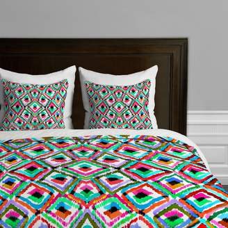 Deny Designs Amy Sia Watercolor Ikat 1 Duvet Cover