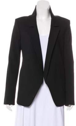 Theyskens' Theory Wool Open-Front Blazer
