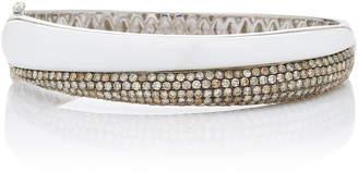 Ofira Diamond & White Agate Slope Cuff