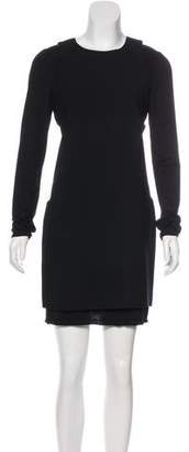 Alice + Olivia Long Sleeve Mini Dress