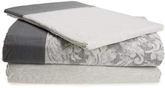 Camilla And Marc Home Creative Sette 10014238 Bedding Set, Cotton, Grey, 3 X 150 X 3 CM