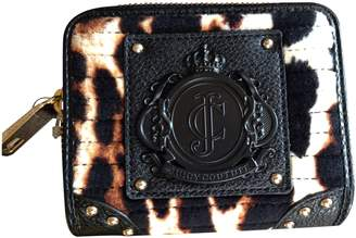 Juicy Couture Animal Print Velour Wallet Ysru2661 ( New With Tag)