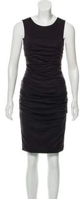 Dolce & Gabbana Sleeveless Virgin Wool Dress