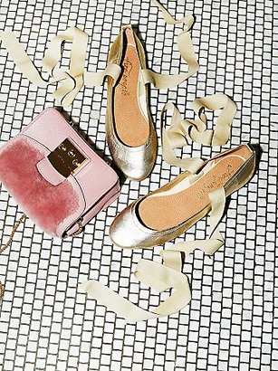 Degas Ballet Flat by FP Collection at Free People $98 thestylecure.com