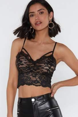 ba667ba468332 Lace Bralet Top - ShopStyle UK