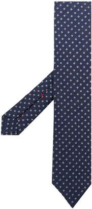Isaia patterned tie