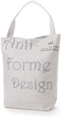 Anti-Forme Design (アンチフォルム デザイン) - アンチフォルムデザイン Anti-Forme Design LOGO BAG バゲットトート