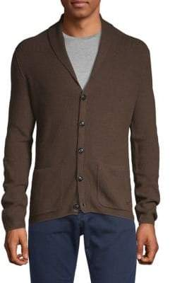 HUGO BOSS Adelagoo Wool Blend Cardigan Sweater