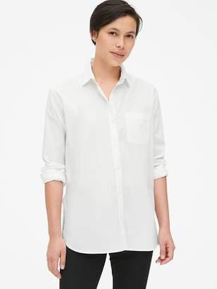 Gap Boyfriend Shirt in Poplin