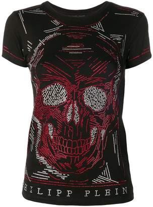 Philipp Plein Line Skull T-shirt
