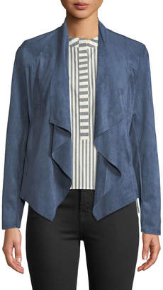 KUT from the Kloth Tayanita Faux-Suede Draped Jacket