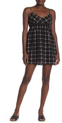 Luna Chix LUNACHIX Plaid Strappy Tie Back Dress