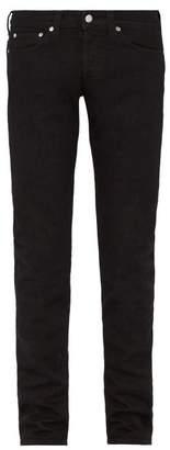 Helmut Lang Matte Slim Leg Jeans - Mens - Black