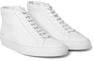 Common Projects Original Achilles Leather High-Top Sneakers - Men - White