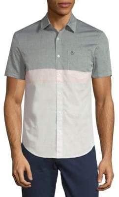 Original Penguin Cotton Colorblock Shirt