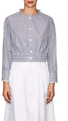Atlantique Ascoli Women's Lundi Striped Cotton Blouse