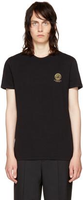 Versace Underwear Black Small Medusa Logo T-Shirt $70 thestylecure.com
