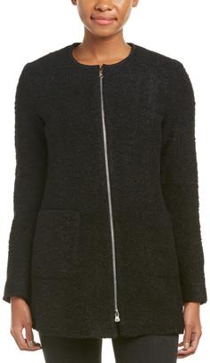 Nanette Lepore A Good Heart Wool-Blend Coat