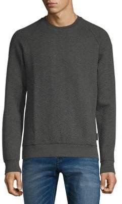 J. Lindeberg Chad Herringbone Crewneck Sweater