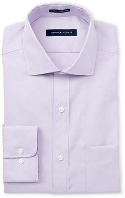 Tommy Hilfiger Lilac Regular Fit Dress Shirt