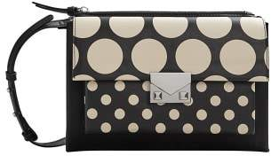 MANGO Polka-dot cross-body bag