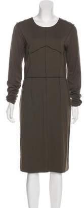 MM6 MAISON MARGIELA Long Sleeve Midi Dress
