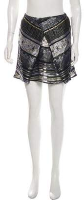 Kenzo Brocade Mini Skirt