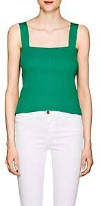 Simon Miller Women's Melba Textured-Knit Top - Green