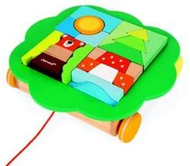 Janod Pull Along Trolley Toy
