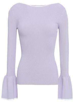 Sandro Ribbed-knit Sweater