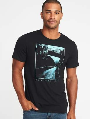 Old Navy Graphic Soft-Washed Tee for Men