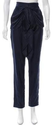 Tibi High-Rise Skinny Pants