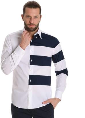 Paul & Shark Men's P18p3366sf100 Cotton Shirt