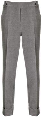 Kiltie slim-fit trousers