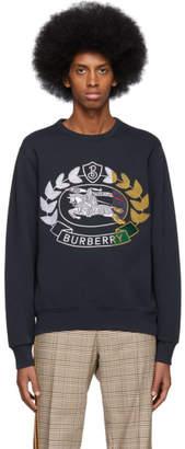 Burberry Navy Renshaw Sweatshirt