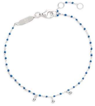 Argentovivo Beaded Enamel Sphere Charm Bracelet