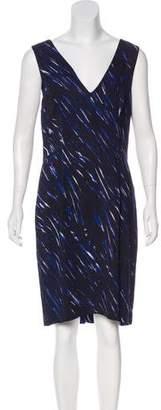 Milly Printed Knee-Length Dress