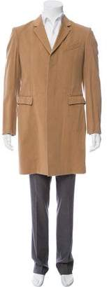 Burberry Wool Single-Breasted Overcoat