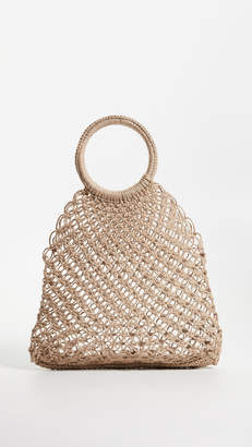 Elizabeth and James Alfonso Jute Tote Bag
