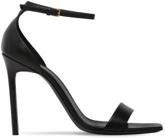 Saint Laurent 105mm Amber Leather Sandals
