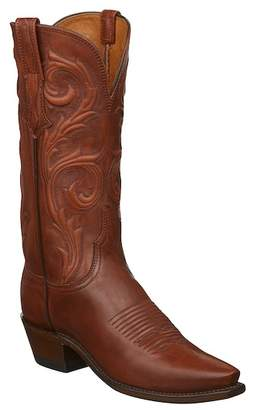 Lucchese Gilmar Western Leather Boot - Wide Width Available