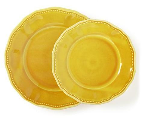 Mustard Tableware, Salad Plate