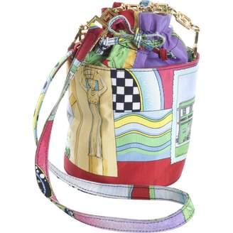 Gianni Versace Silk Handbag