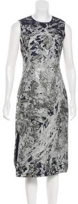 Prabal Gurung Sleeveless Metallic Dress w/ Tags