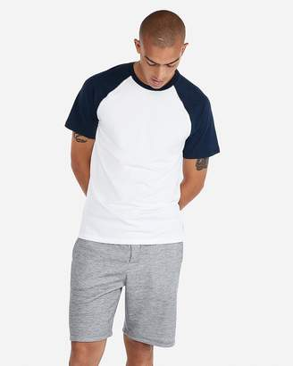 Express Exp Weekend Stretch Baseball Tee
