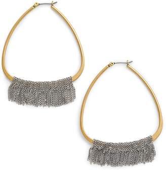Serefina Chain Fringe Earrings