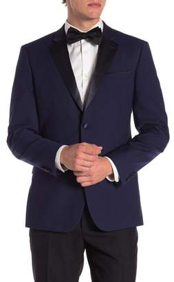 14th & Union Navy Notch Lapel Extra Trim Fit Dinner Jacket