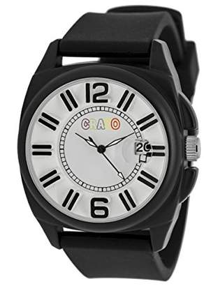 Crayo Women's 'Sunset' Quartz Metal and Silicone Watch