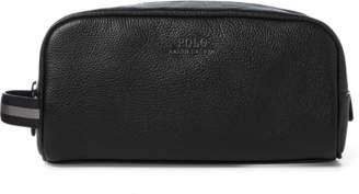 Ralph Lauren Full-Grain Leather Shaving Kit