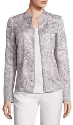Lafayette 148 New York Kyla Floral Jacquard Jacket